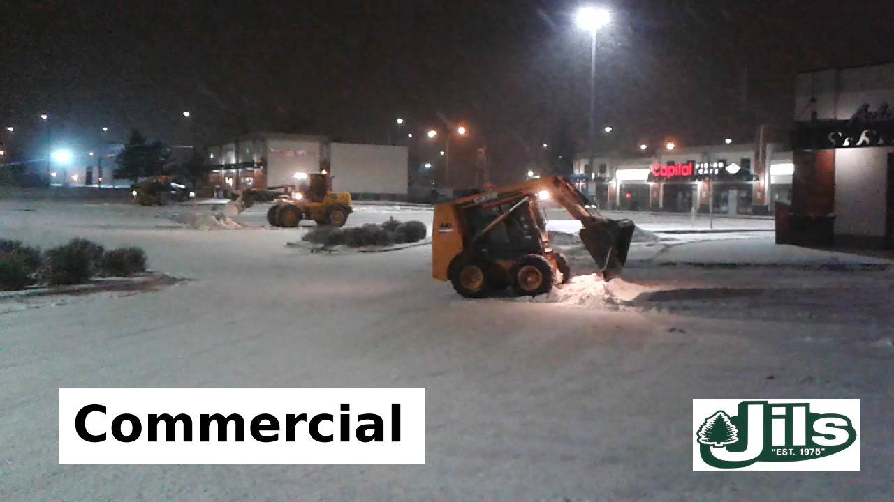 commercial snow removal #1